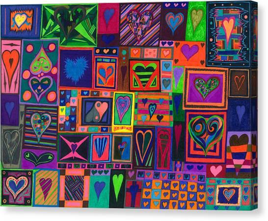 Find U'r Love Found Canvas Print