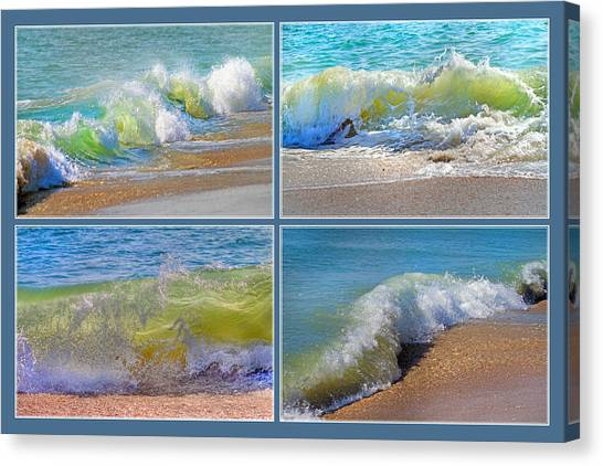 Tumbling Canvas Print - Find Your Inspiration by Betsy Knapp