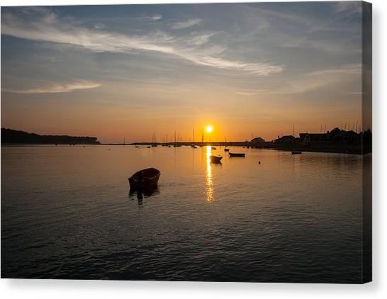 Findhorn Sunset Canvas Print