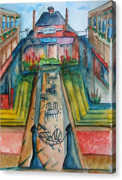 Findlay Market Canvas Print