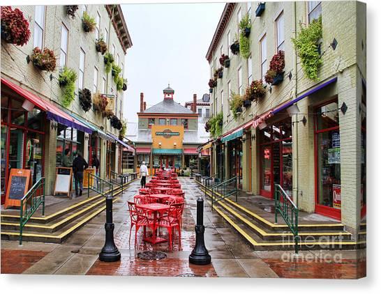 Findlay Market In Cincinnati 0003 Canvas Print