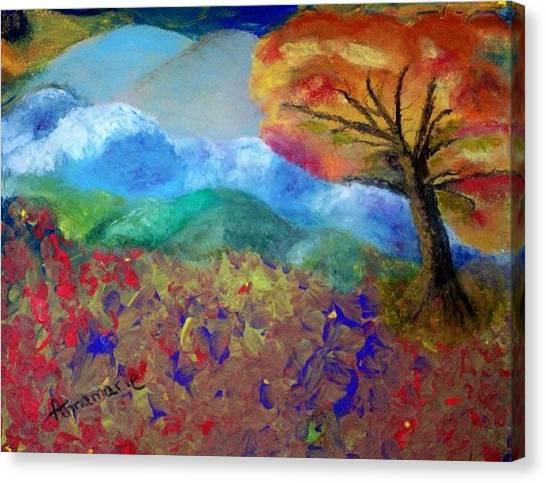 Fingerpainting Canvas Print