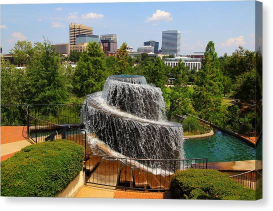 Finlay Park Columbia South Carolina Canvas Print