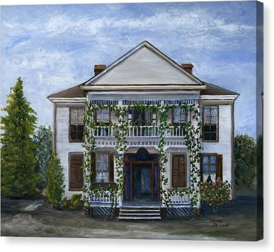 Finn Hotel Pleasant Hill Louisiana Canvas Print