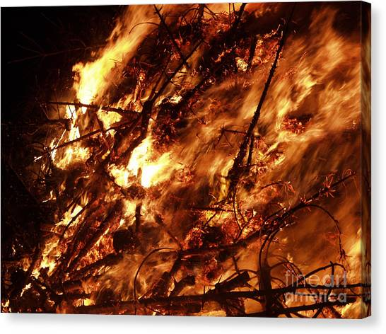 Fire Blaze Canvas Print