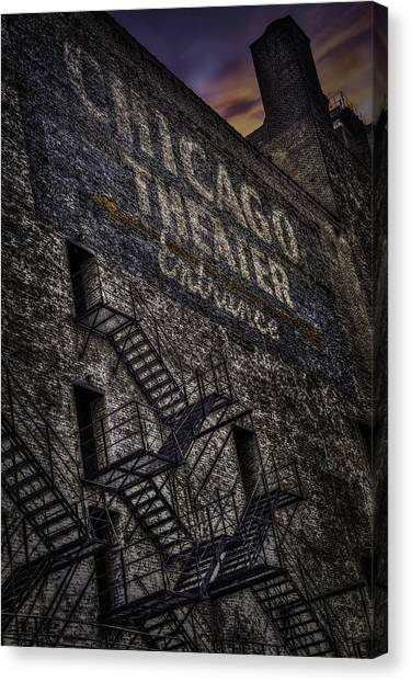 Chicago Fire Canvas Print - Fire Escape by Alexander Hill