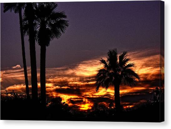 Fire Haven Canvas Print by Marquis Crumpton