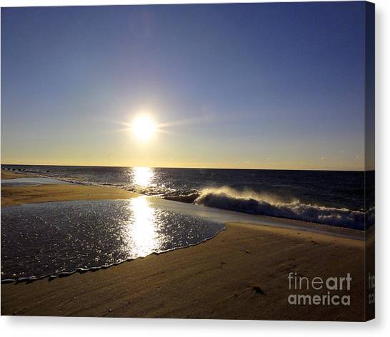 Fire Island Sunday Morning - 13 Canvas Print