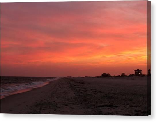 Fire Island Sunset Canvas Print