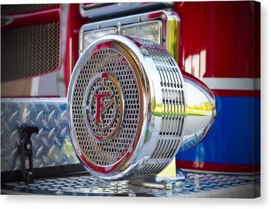 Canvas Print - Fire Truck Siren by Fizzy Image