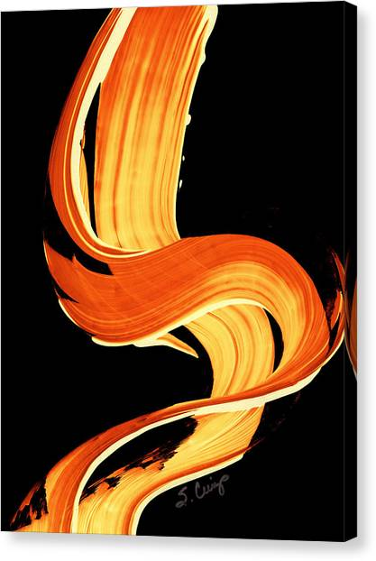 Fall Canvas Print - Fire Water 269 By Sharon Cummings by Sharon Cummings