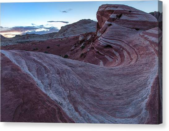 Valley Of Fire Canvas Print - Fire Wave II by Rick Berk