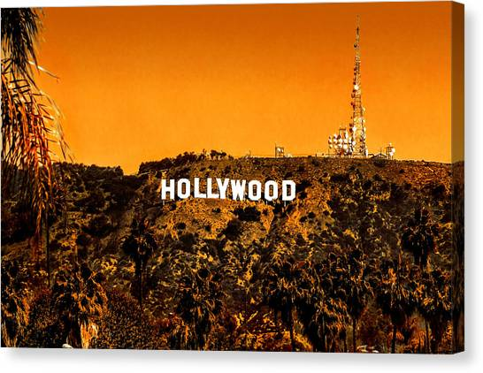California Landscape Art Canvas Print - Fired Up by Az Jackson