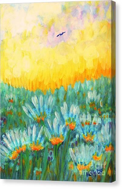 Firelight Canvas Print