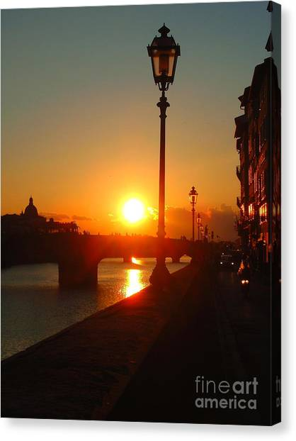 Firenze-14 Canvas Print