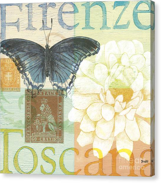 Italy Canvas Print - Firenze by Debbie DeWitt