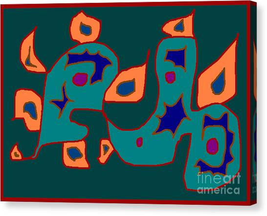 Firest Canvas Print by Meenal C