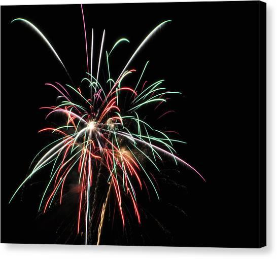 Fireworks 5 Canvas Print