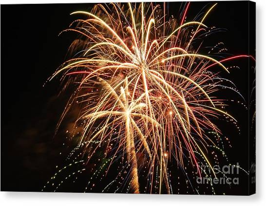 The 4th Of July Canvas Print by Manda Renee
