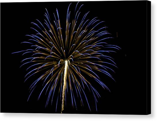 Fireworks Bursts Colors And Shapes 3 Canvas Print