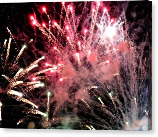 Fireworks  Canvas Print by Paul Ganser