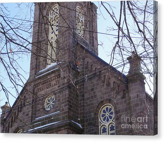 First Baptist Church Canvas Print