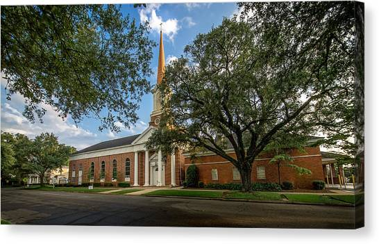 First Baptist Of Georgetown II Canvas Print