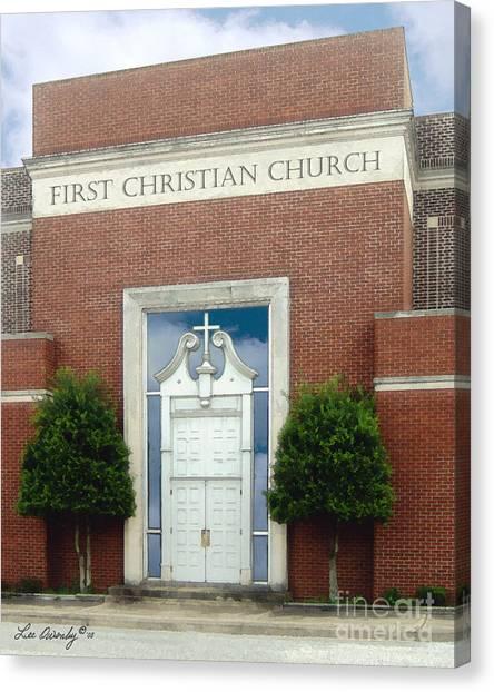 First Christian Church Canvas Print
