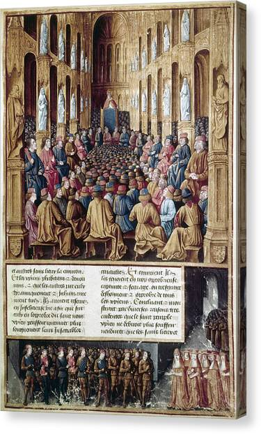 Carousel Collection Canvas Print - First Crusade, 1095 by Granger