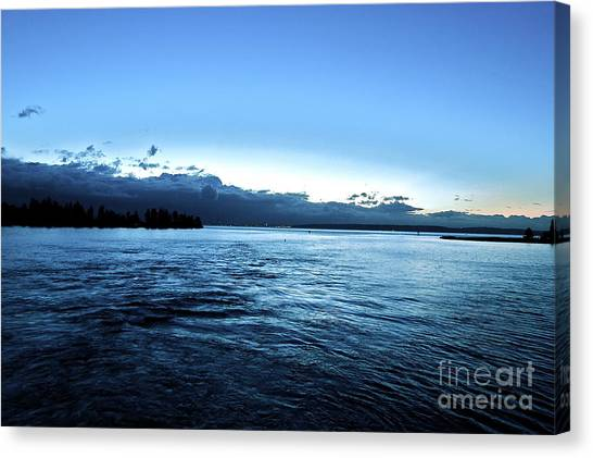 First Ferry Home Canvas Print
