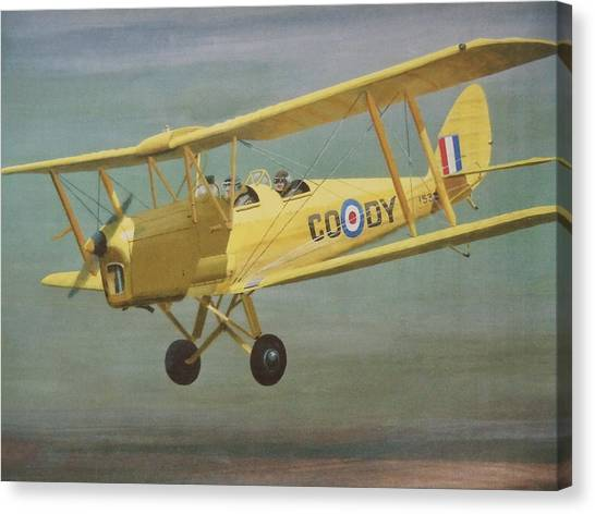 First  Flight Canvas Print by James Lawler