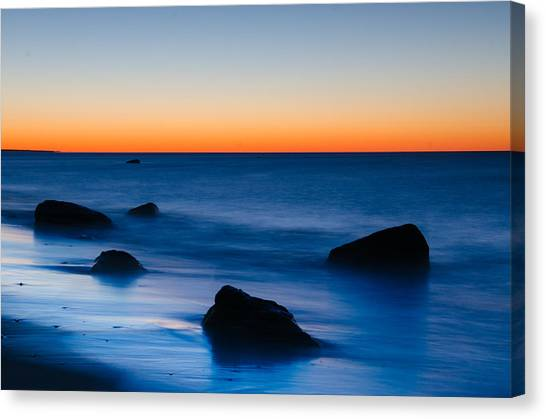 First Light At Lucy Vincent Beach Canvas Print