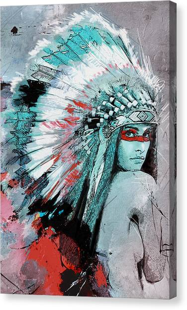 Catf Canvas Print - First Nations 005 C by Corporate Art Task Force