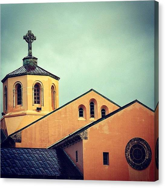 Religious Canvas Print - First Presbyterian Church - Miami ( by Joel Lopez