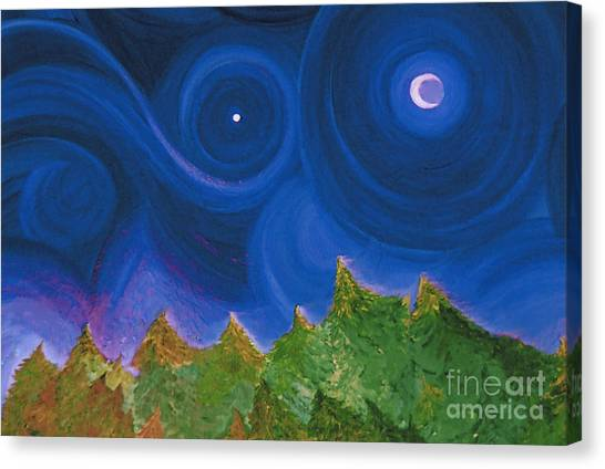 First Star Wish By Jrr Canvas Print
