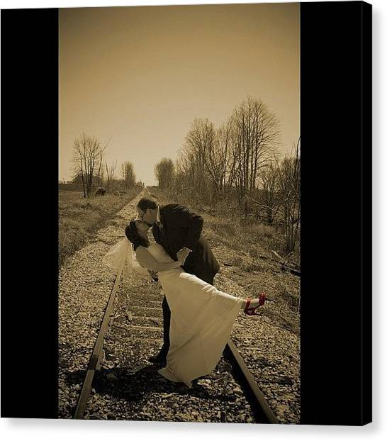 Groom Canvas Print - First Time Shooting A Wedding! #wedding by Pb Photography