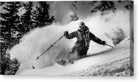 First Tracks.... Canvas Print by Eric Verbiest