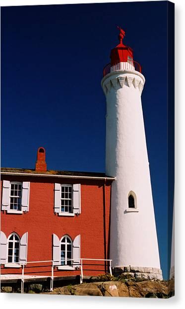Fisgard Lighthouse Canvas Print