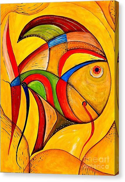 Fish 534-11-13 Marucii Canvas Print