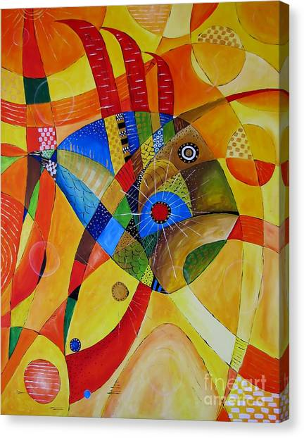 Fish 752 - Marucii Canvas Print