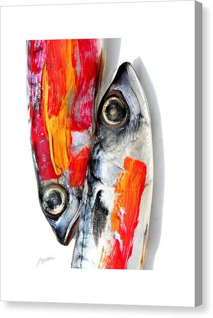 Fish Canvas Print by Arsen Arsovski