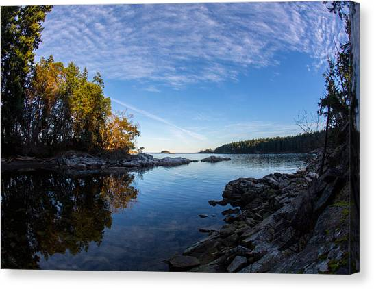 Fish Eye View Canvas Print