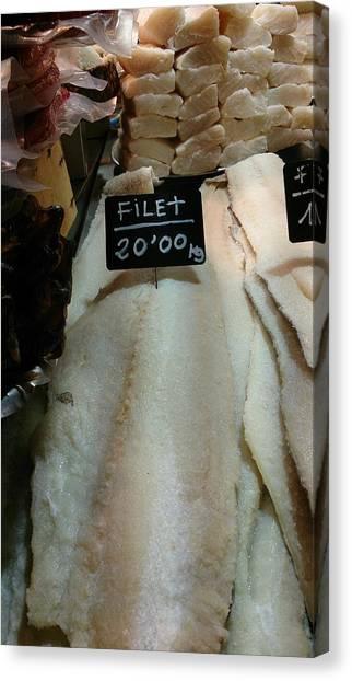 Fish Filets Canvas Print