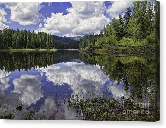 Fish Lake Canvas Print