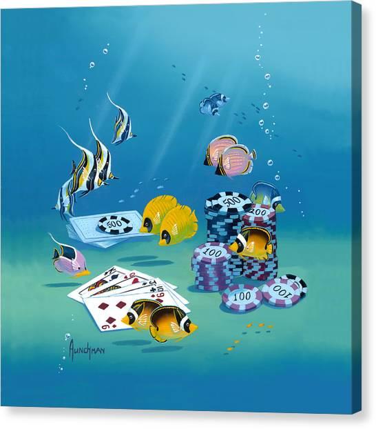 Fish N Chips Canvas Print