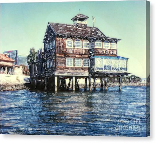 Fish Shanty Canvas Print