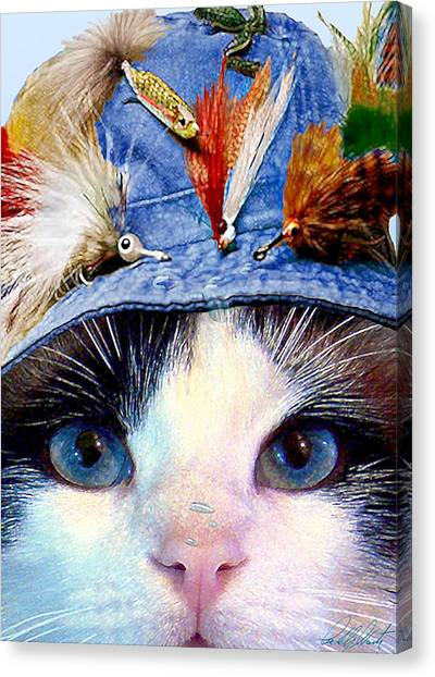 Fisher Cat Canvas Print