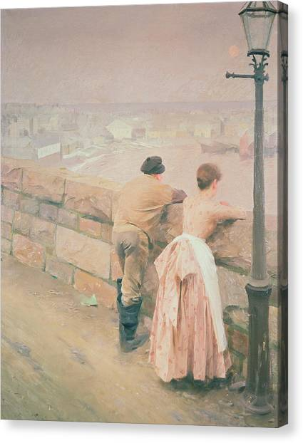 St Ives Canvas Print - Fisherman St. Ives by Anders Leonard Zorn