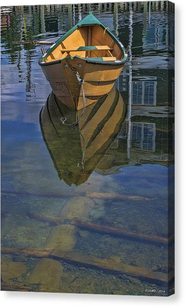 Fisherman's Cove  Canvas Print