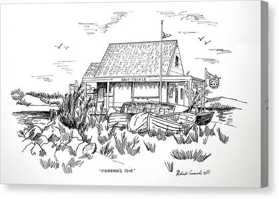 Fisherman's Cove Manasquan Nj Canvas Print
